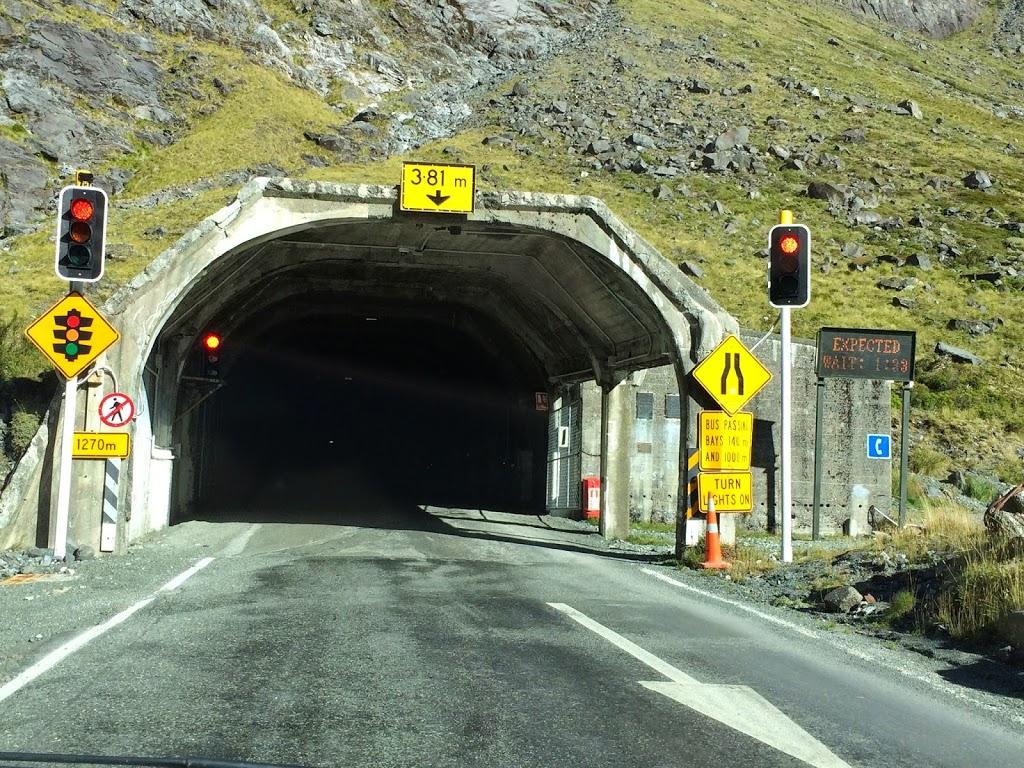 Homer Tunnel, Milford Sound