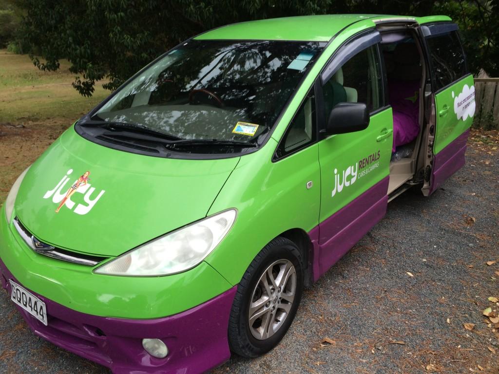 campervan rental new zealand